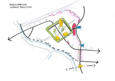 Goudse Poort - Concept - heldere hoofdontsluiting