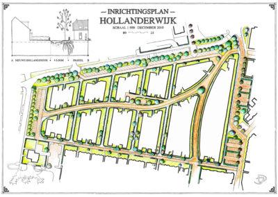 Hollanderwijk - Inrichtingsplan