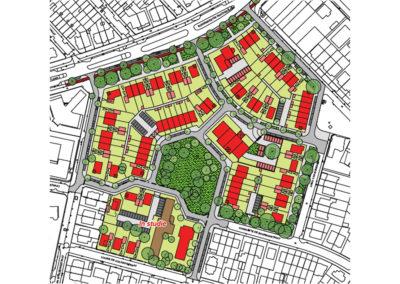 Oranjeburgh - Plankaart