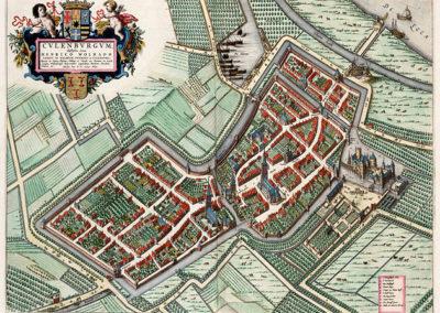 Culemborg Markt - Historische kaart